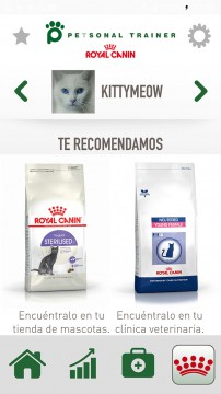 Airtouch Mobile Development for IOS Android Royal Canin Petsonal Trainer App Airtouch