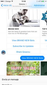 Qwazou Chatbot Facebook Messenger Airtouch