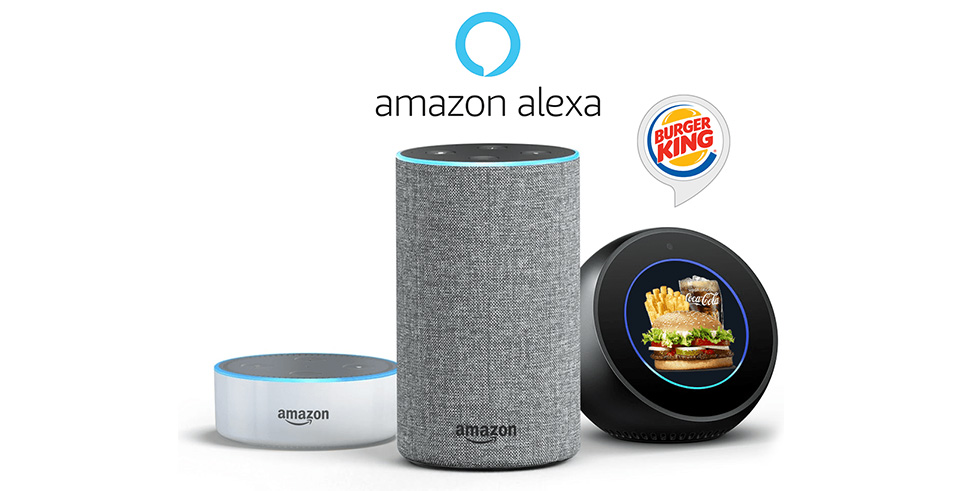Airtouch develops Burger King® Skill for Amazon Alexa